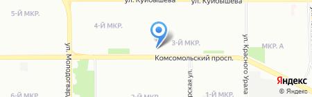 Петрович на карте Челябинска