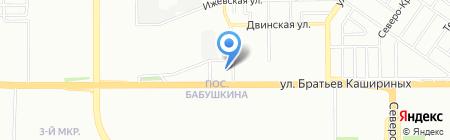 Банкомат Райффайзенбанк АО на карте Челябинска