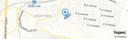 Средняя общеобразовательная школа №131 на карте Челябинска