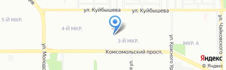 Комитет территориального общественного самоуправления №7 Курчатовского района на карте Челябинска