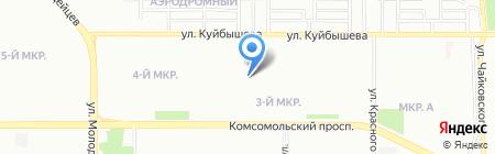 Вертикаль на карте Челябинска