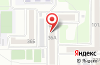 Схема проезда до компании Файбер Оптик в Челябинске