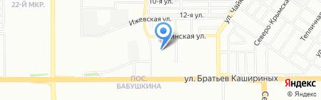 Отделка помещений КС на карте Челябинска