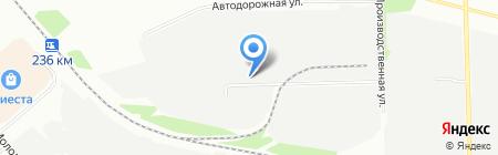 Комус-Южный Урал на карте Челябинска