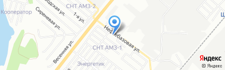 СпецАавтоШин на карте Челябинска