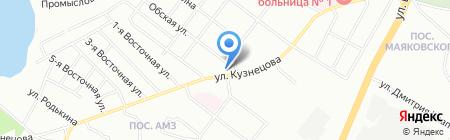 Иванна Рай на карте Челябинска
