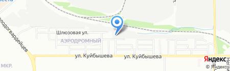Ворота Che на карте Челябинска