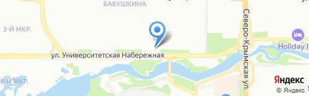 Копеечка на карте Челябинска