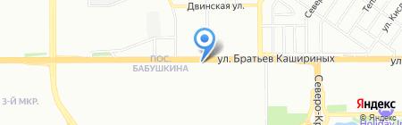 Коммерческий на карте Челябинска