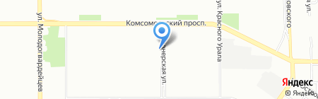 Охранные технологии на карте Челябинска