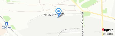 СоюзАвтоСтрой на карте Челябинска