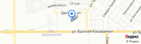 Максима на карте Челябинска