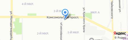 Магия Белья на карте Челябинска