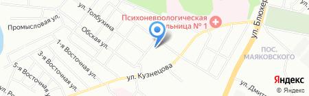 Детская библиотека №5 на карте Челябинска