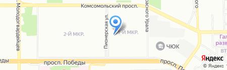 АС-Инжиниринг Челябинск на карте Челябинска