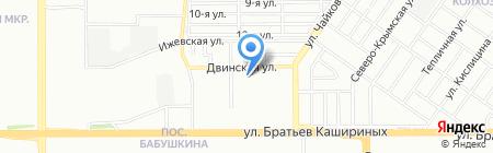 Средняя общеобразовательная школа №54 на карте Челябинска