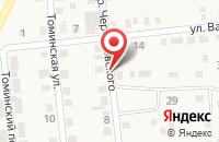 Схема проезда до компании МАГАЗИН ПРОМТОВАРЫ в Коркино