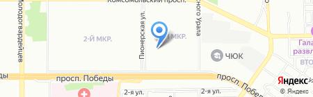 Рег-Палата на карте Челябинска