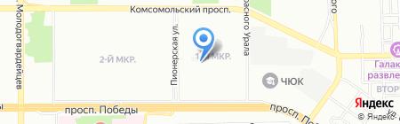 МРСК УРАЛА на карте Челябинска