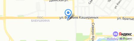 Снежная Королева на карте Челябинска