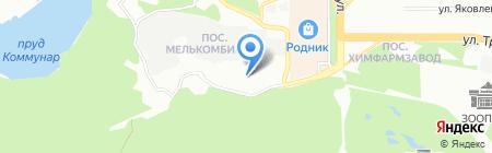Телемастер на карте Челябинска