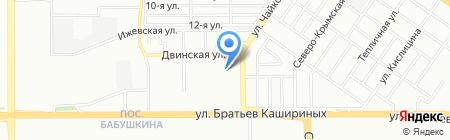С-Принт на карте Челябинска