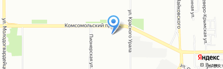 Нефтеспецтехника на карте Челябинска