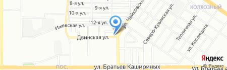 Saigon DEP на карте Челябинска