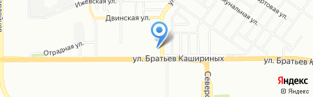 АВИА-тур на карте Челябинска