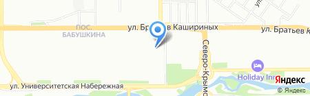 Бриз на карте Челябинска