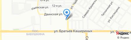 ITN на карте Челябинска
