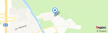 Соколиная гора на карте Челябинска