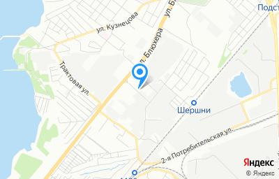 Местоположение на карте пункта техосмотра по адресу г Челябинск, ул Новоэлеваторная, д 49
