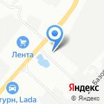 Эрон-М на карте Челябинска