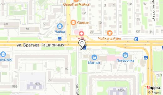Роспечать. Схема проезда в Челябинске