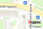 Схема проезда до компании Первый в Челябинске
