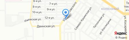 СПЛАВ на карте Челябинска