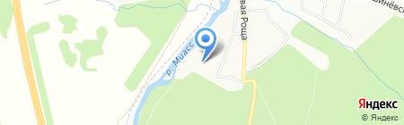 Детский сад №150 на карте Челябинска