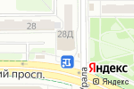 Схема проезда до компании Chapu в Челябинске