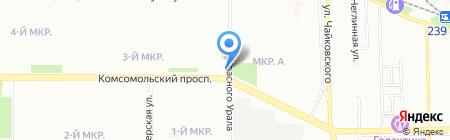 БиGoodи на карте Челябинска