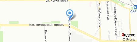 Ассоль на карте Челябинска
