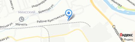 Строй Дом на карте Челябинска
