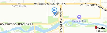 Уральская Химическая Компания на карте Челябинска