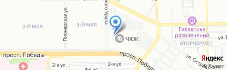 Детская школа искусств №12 на карте Челябинска