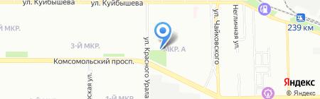 Энергия на карте Челябинска