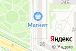 Схема проезда до компании Уральский умелец в Челябинске