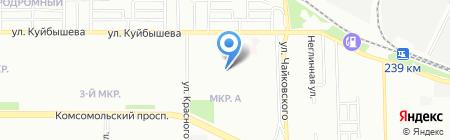 Детский сад №362 на карте Челябинска
