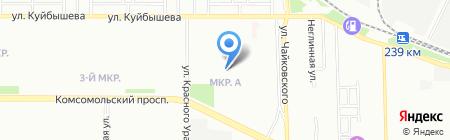 Детский сад №355 на карте Челябинска