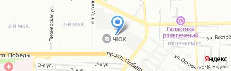 Валенсия на карте Челябинска