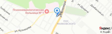 Квинта на карте Челябинска